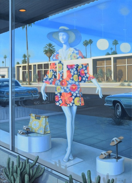 , 'Summer Shopping,' 2019, George Billis Gallery