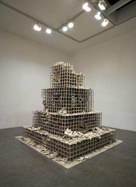 , 'MAUSOLEO TIPO,' 2008, Galleria Pack