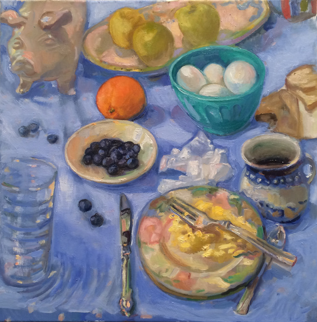 , 'Blue Eggs and Ham,' 2018, BCK Fine Arts Gallery at Montauk