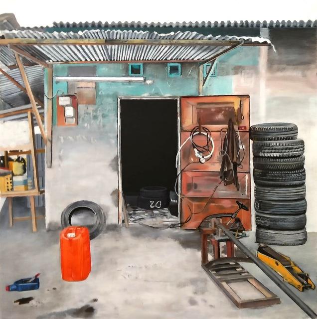 , 'Vulcanisateur, Treichville,' 2017, Galerie Cécile Fakhoury - Abidjan