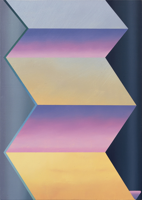 , 'Folded Fog,' 2017, Tempe Digital