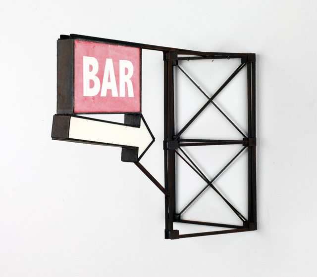 , 'Red Bar With Arrow,' 2019, Visions West Contemporary