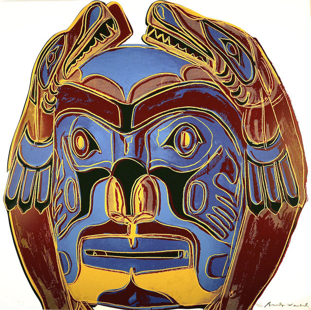 Andy Warhol, 'Northwest Coast Mask (FS II.380) ', 1986, Revolver Gallery