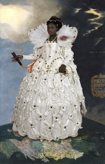 E2 - KLEINVELD & JULIEN, 'Ode to Gheeraerts' Portrait of Elizabeth I', 2014, Jonathan Ferrara Gallery