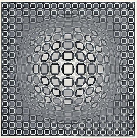 Victor Vasarely, 'Gewa', 1983, Kunzt Gallery