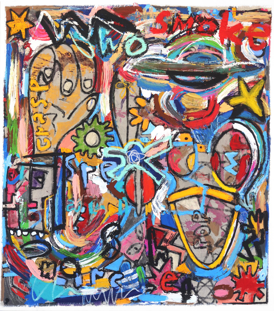 Jonas Fisch, 'Being From Another World', 2020, Painting, Mixed Media, Acrylic, Oil on Canvas, Artspace Warehouse