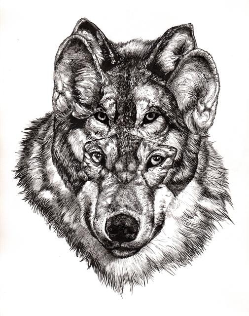 , 'Grey Wolf,' 2015, Jenn Singer Gallery