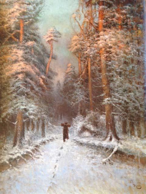 Vladimir Nasonov, 'Winter Evening', Gallery 901