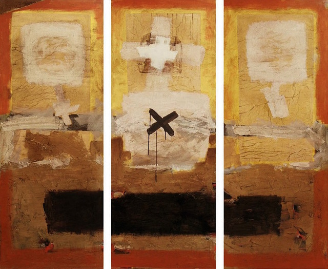 , 'Composition 04-06 (triptych),' 2004-2006, Robert Kananaj Gallery