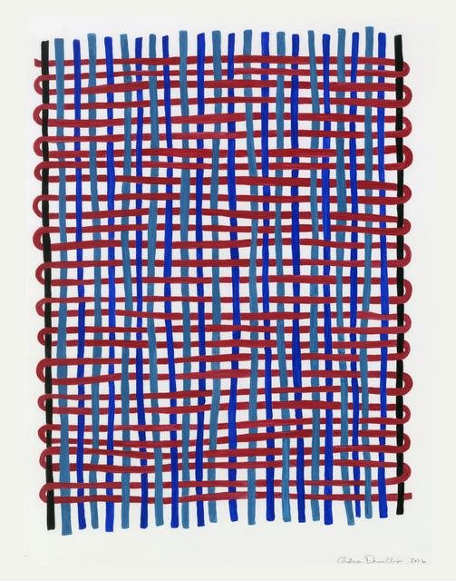 , 'Twill #1,' 2016, Reynolds Gallery