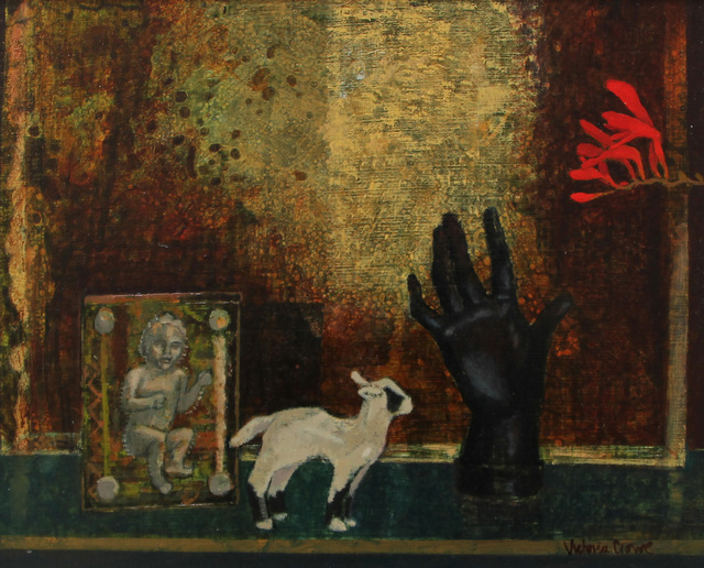 , 'Lamb and Lucifer,' , The Scottish Gallery