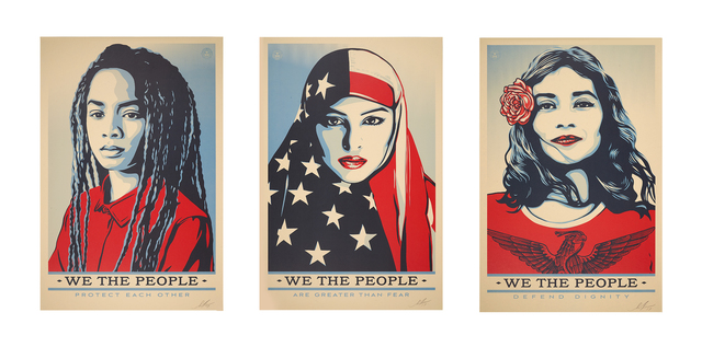 Shepard Fairey (OBEY), 'We the People', 2017, Rago/Wright