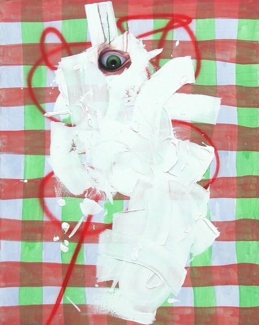 , 'Untitled Portrait with Green Painted Eye,' 2001, envoy enterprises
