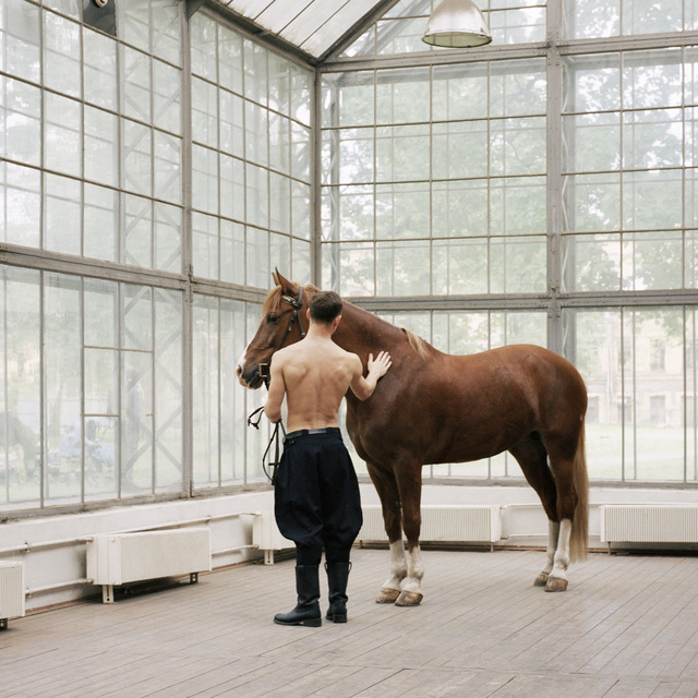 Valery Katsuba, 'Model With The Horse', 2014, Photography, C-print, Anna Nova Gallery