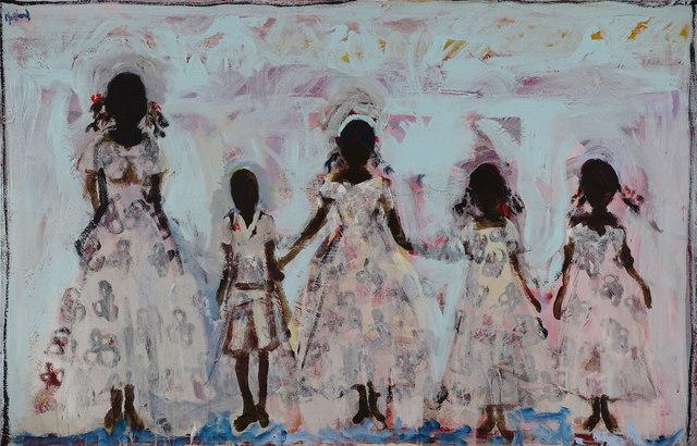 John Maitland, 'The Wedding Party', Wentworth Galleries