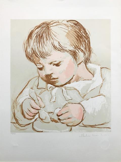 Pablo Picasso, 'ENFANT DEIEUNANT', 1979-1982, Reproduction, LITHOGRAPH ON ARCHES PAPER, Gallery Art