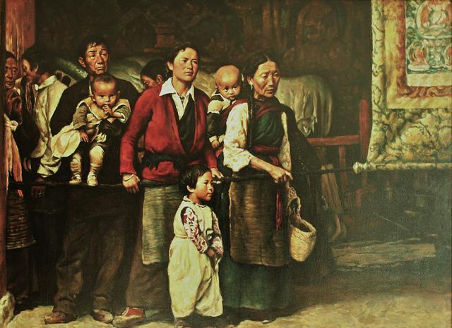 Pei Zhuangxin, 'Waiting- Jokhang Temple 等待-大昭寺', 1989, W.Ming Art