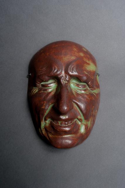 Pierre Adrien Dalpayrat, 'Commedia dell'Arte Mask', ca. 1892, Galerie Fledermaus