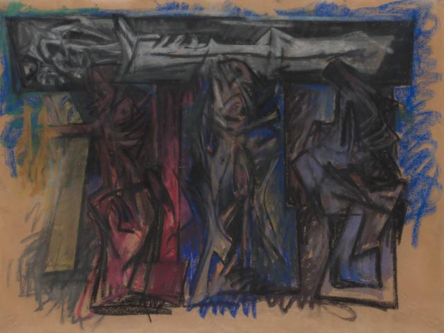 Hans Burkhardt, 'Burial Procession', 1961, Doyle