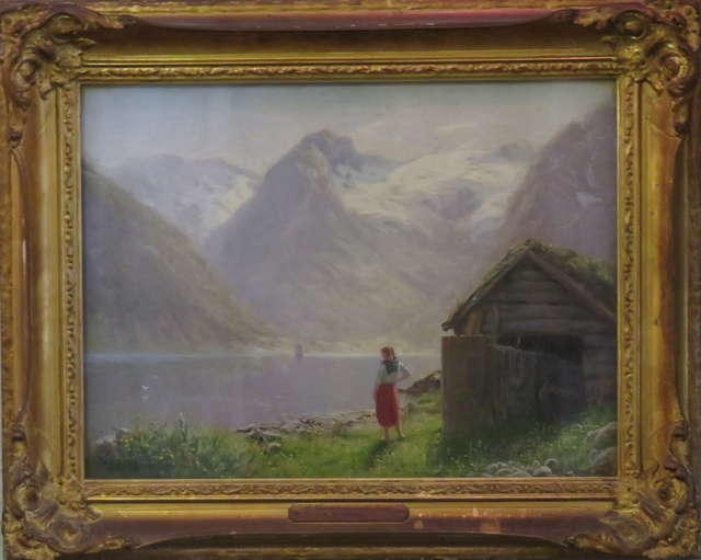 , 'Untitled (Norwegian Lake scene),' , Arctic Experience McNaught Gallery