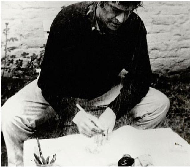 , 'La pluie (Projet pour un texte),' 1969, Museo de Arte Contemporáneo de Buenos Aires