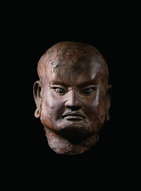 , 'A Dry Lacquer Head of a Luohan 南宋 夾紵乾漆羅漢首像,' China: Southern Song Dynasty (1128, 1279), stand, Rasti Chinese Art