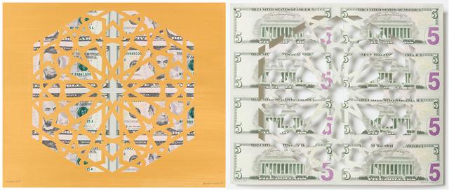 , 'Divine Structure: Hexagon (Diptych),' 2017, Aicon Gallery
