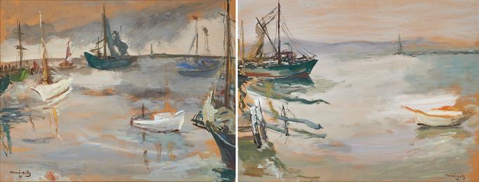Untitled (New York Harbor)
