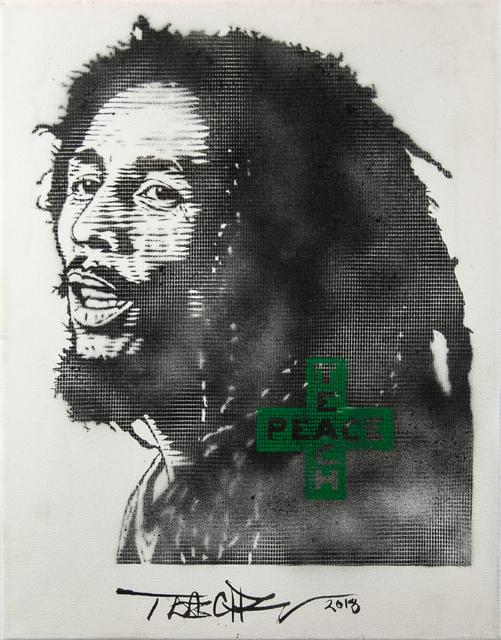 Teachr, 'Bud Marley', 2018, Painting, Aerosol on canvas, EWKUKS