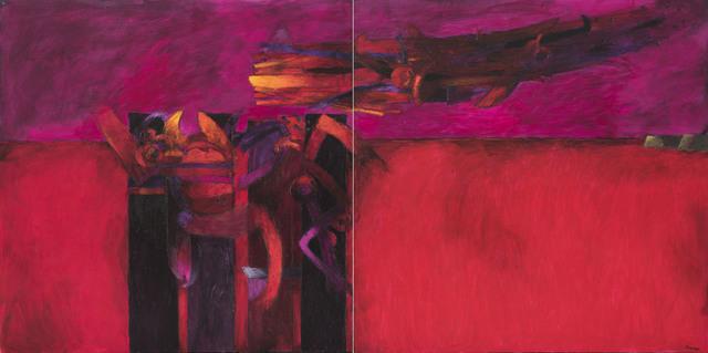 Fernando de Szyszlo, 'Viento Rojo', 2017, Durban Segnini Gallery