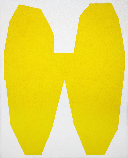 , 'Yellow on White I,' 2017, Tappan