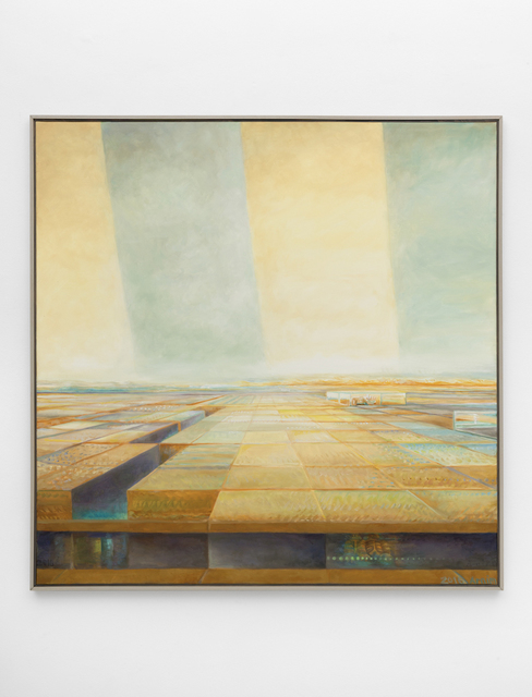 , 'Graben (Hommage à Feininger),' 2016, PPC Philipp Pflug Contemporary