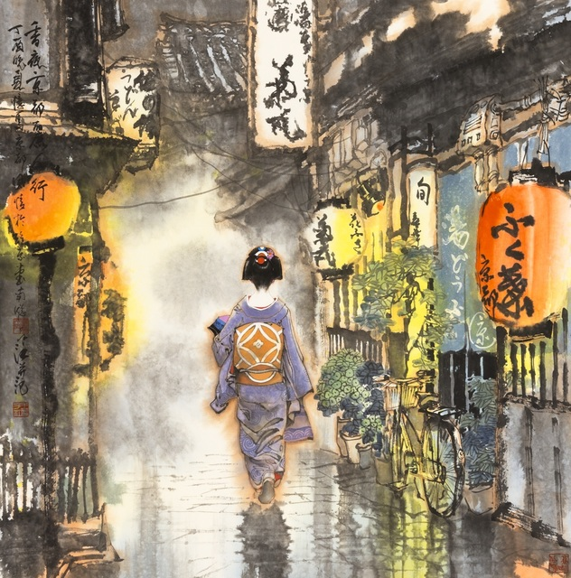 Zi Jiang Wang 王子江, 'Quiet Footsteps', 2017, White Space Art Asia