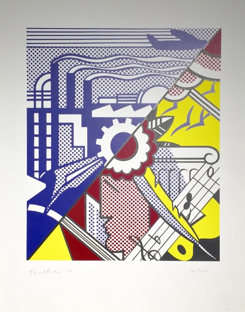 Roy Lichtenstein, 'Industry and the Arts II', 1969, Print, Screenprint, Joseph Fine Art LONDON