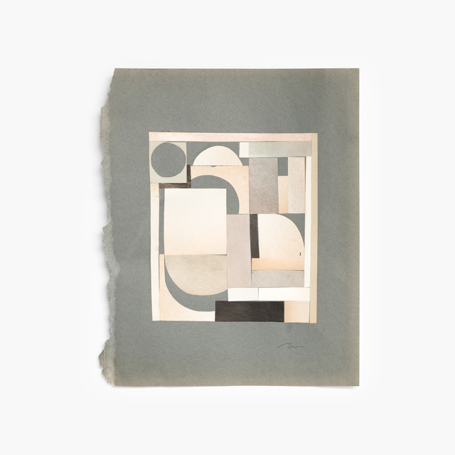 Maureen Meyer, 'Small Plane', 2018, Drawing, Collage or other Work on Paper, Mixed media on paper, Tappan
