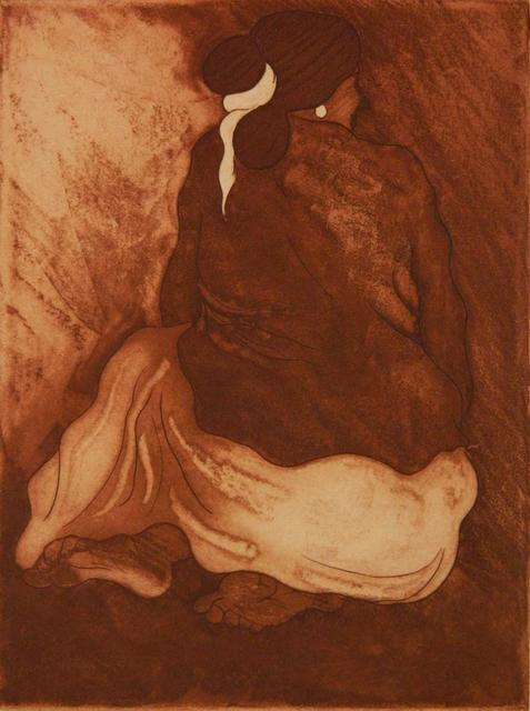 , 'Seated Navajo Woman,' 1977, Leviton Fine Art