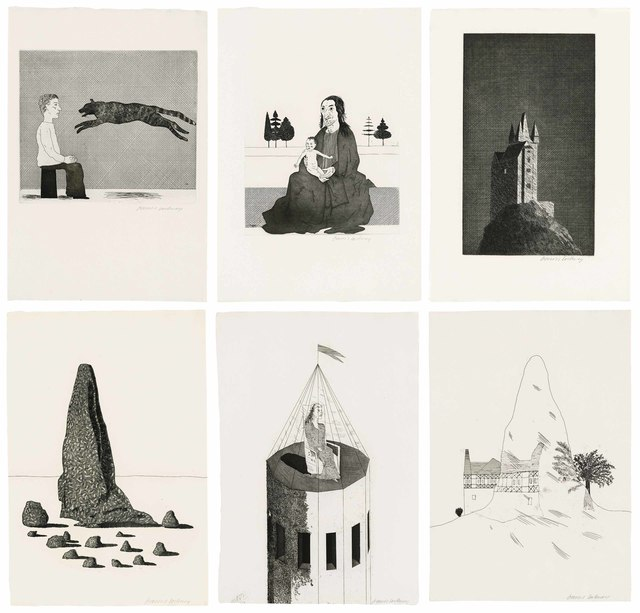 David Hockney, 'Illustrations for Six Fairy Tales from the Brothers Grimm', 1969-70, Christie's