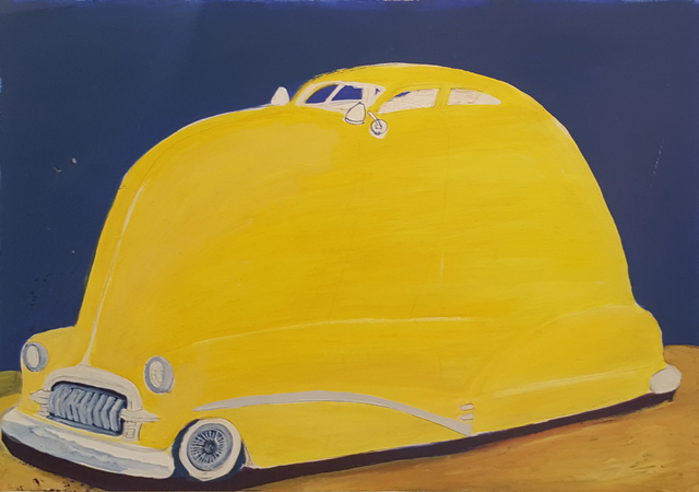 , '52 Custom Chevy Fleetline,' 1982, Craig Krull Gallery