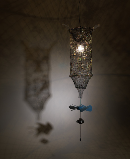 , 'Afflicted Teeth Chandelier-Fishing Net,' 2009, Gallery Absinthe