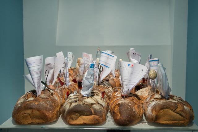 , 'La promesse du pain,' 2017, Galerie Liusa Wang
