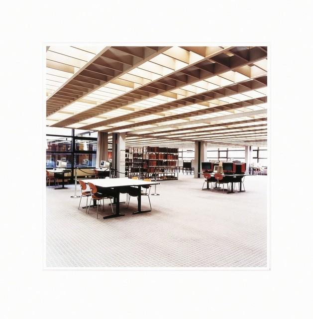 Candida Höfer, 'Universitätsbibliothek Hamburg B', 2001-2003, MLTPL