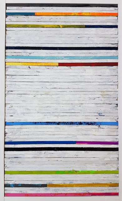 , 'Lathe Painting #19,' 2018, Cerbera Gallery
