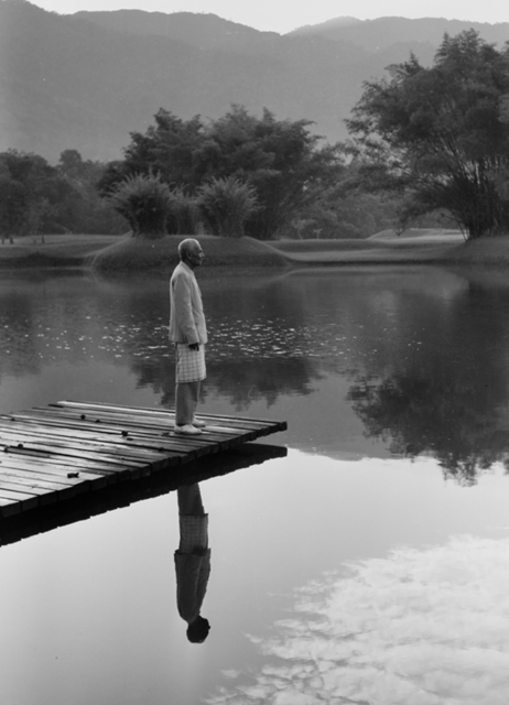 , 'Abdullah, standing lakeside,' 1953, Sultan Ismail Photograph Editions