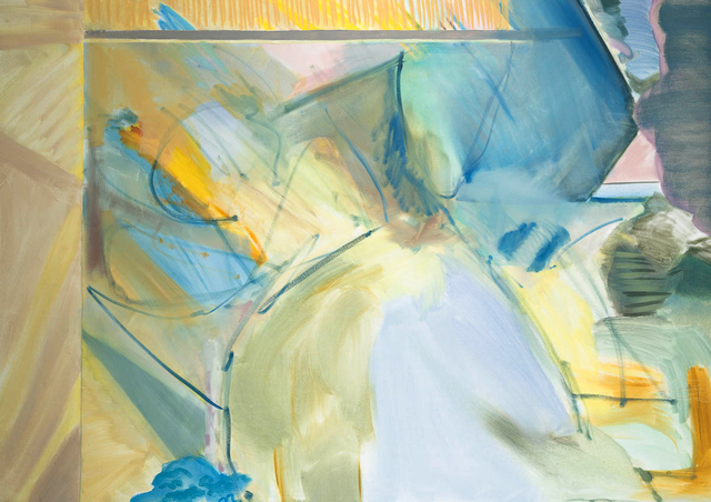 Charlotte Edsell, 'Blue Looking Glass', 2020, Painting, Oil on canvas, Candida Stevens Gallery
