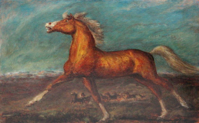, 'Golden Horse,' 1935, Kiechel Fine Art
