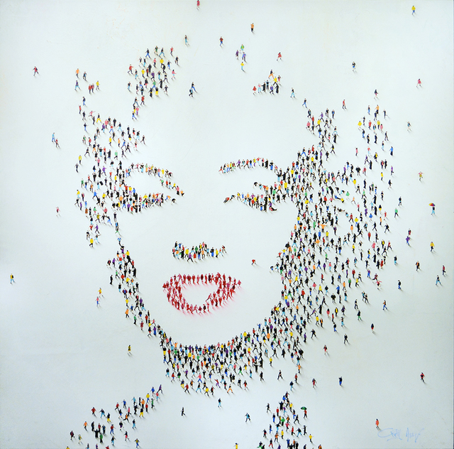 Craig Alan, 'Populus: Marilyn 'Chromatic Bombshell'', Guarisco Gallery