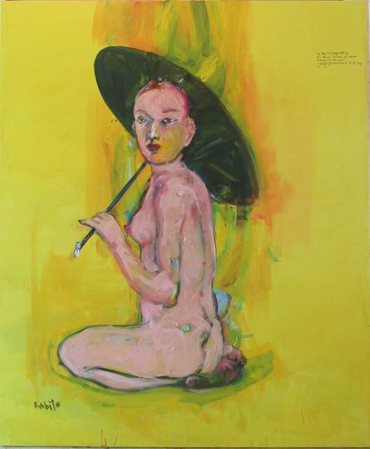 Carlos Quintana, 'Yellow Umbrella', 2019, Pan American Art Projects