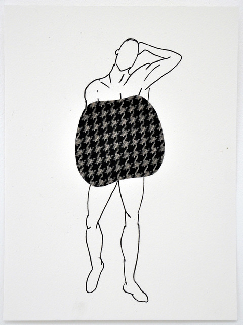 , 'Savvy (Houndstooth),' 2013, Marian Cramer Projects