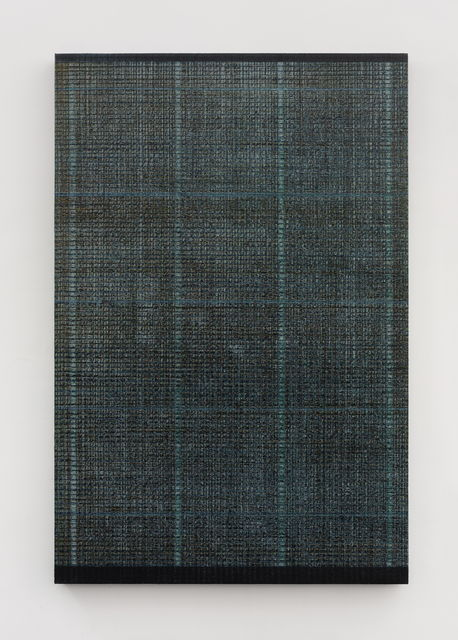 , 'Four lines - Green and Gray,' 2018, Aye Gallery