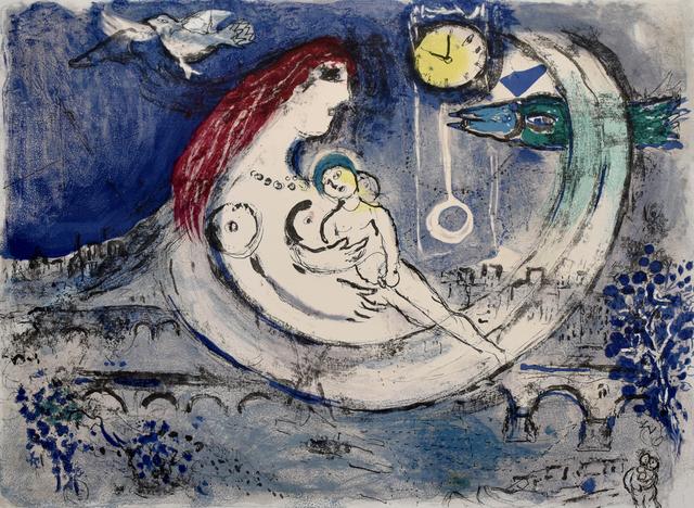 Marc Chagall, 'Blue Landscape | Paysage bleu', 1958, Gilden's Art Gallery